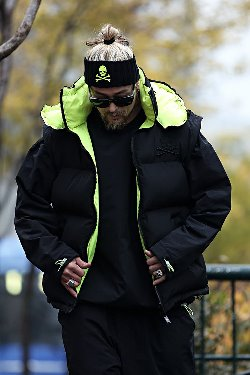 ByTheR Black Neon Reversible Padded Vest